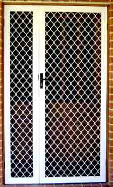 Aluminium Safety Grill Doors
